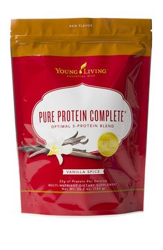 Pumpkin Spice Protein Bars ~ A Young Living Essential Oils recipe ~ This recipe uses Pure Protein Complete Vanilla Spice, plus cinnamon bark and clove essential oils.