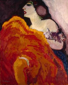 Kees van Dongen, Red Dancer, 1907, Oil on canvas, 99 x 81 cm, The State Hermitage Museum, St. Petersburg