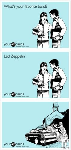 Led Zeppelin . . . & they ROCKED happily ever after