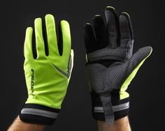 Proviz Hi Visibility Cycling Gloves - Yellow