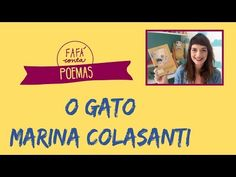 O GATO de Marina Colasanti - do livro Caminho da Poesia - Fafá conta poemas - YouTube Youtube, Movie Posters, Movies, Chop Saw, Star, Early Education, Books, Poems, Gatos