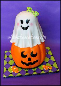 Image detail for -Halloween Fondant Cake | She Bakes Cakes LLC