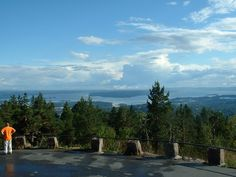 Oslo and Oslofjorden - view from the Holmenkollen Hill