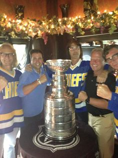 Dennis Blake and the Hanson Brothers!