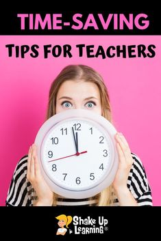 Teachers only have so much time with their students, so it's super important to maximize that time for learning! Here are 10 time-saving tips and tools for teachers! #edtech #google #teacher #education | shakeuplearning.com Teacher Tools, Teacher Resources, Teacher Education, Classroom Resources, Teaching Ideas, Stem Teaching, Teacher Organization, Teaching Strategies, Teacher Hacks