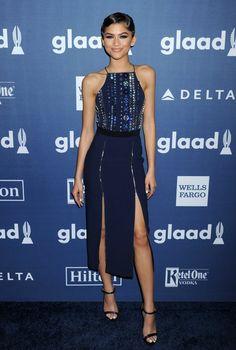 Zendaya at the 27th Annual GLAAD Media Awards 4/2/16