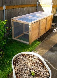 DIY Compost station - this one makes sense with the plastic cover
