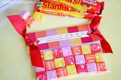 Starburst Gift....I'm bursting with happiness. You're a star!