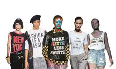 Guide to slogan T-shirts: the wish list – in pictures https://www.theguardian.com/fashion/gallery/2017/jul/15/guide-to-slogan-t-shirts-the-wish-list-in-pictures?utm_campaign=crowdfire&utm_content=crowdfire&utm_medium=social&utm_source=pinterest