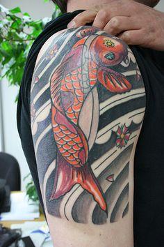 Koi Fish Tatoos For Men - Pictures, Video & Information on Koi ...