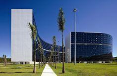 Oscar Niemeyer: Cidade Administrativa Presidente Tancredo Neves , Belo Horizonte Oscar Niemeyer, Reinforced Concrete, Bauhaus, Modern Architecture, Skyscraper, Multi Story Building, City, Lifestyle, Design
