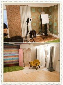 several studio setups in one
