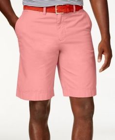 TOMMY HILFIGER Tommy Hilfiger Men'S Big And Tall Chino Shorts ...