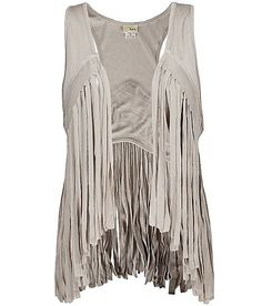 Fringe Vest-really want this