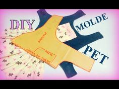 COMO FAZER MOLDE PARA ROUPA PET | Atelier Costurando Comigo - YouTube