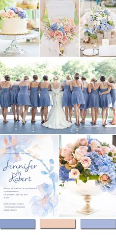 Awesome Blue Wedding Color Ideas & Wedding Invitations to Have in 2016