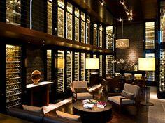 Wein Bibliothek - The Chedi Andermatt