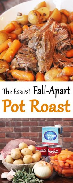 when the leaves start to turn that means it's pot roast season