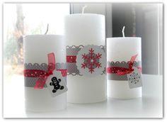 jolies bougies décorées!7sm