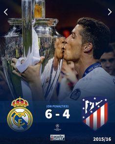 #championsleague 2015-2016 #football Champions League, Real Madrid, Football, Baseball Cards, Sports, Soccer, Hs Sports, Futbol, American Football