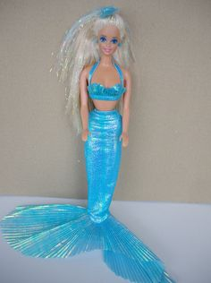 Mermaid Barbie theres my barbie but shes n better shape in the pic I still have tho Barbie 90s, Barbie World, Barbies Dolls, 90s Childhood, Childhood Memories, 1990s Kids, Mermaid Barbie, Nostalgia, Kids Growing Up