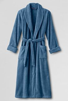 Men's Extra Large Terry Cloth Robes from Lands' End