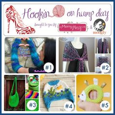 Hookin On Hump Day #70: Link Party for the Fiber Arts! - moogly