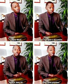 """My computer skills in full....            When Winston nailed his job interview.   28 """"New Girl"""" Quotes Guaranteed To Make You Laugh Every Time"""