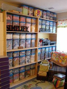 SCRAPPIN' CRICUT: Kendra's Ultimate Scrapbooking Room! Tons of Photos!