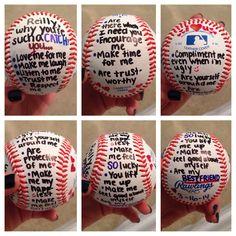 Gift for baseball player boyfriend