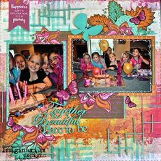 A Layout by Kelly-ann Oosterbeek made using the Bombay Sunrise Collection from Kaisercraft and Imaginarium Designs Chipboard www.kellyanno.com Scrapbooking Layouts, Scrapbook Pages, Mixed Media Art, Ethereal, Canvas Art, Paper Crafts, Sunset, Ann, Happy