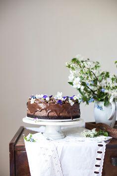 Obłędny sernik czekoladowy Cake, Desserts, Food, Tailgate Desserts, Deserts, Kuchen, Essen, Postres, Meals