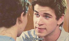"""LOL! """"Scooby doo"""" got me!---hunger games caption gifs bad lip reading"""