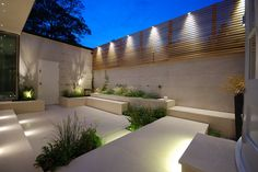Courtyard in Chelsea Charlotte Rowe garden design . Courtyard in Chelsea Charlotte Rowe garden design Garden Design, Courtyard Gardens Design, Small Courtyards, Garden Lighting, Modern Garden Design