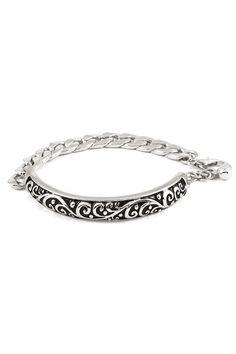 Raylan Bracelet in Silver  #Fashionable #bracelet