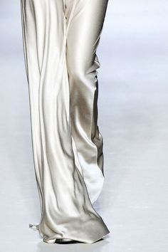 BETTA: Silk flowy PJ Pant suit would be ideal <3  Material and Fit