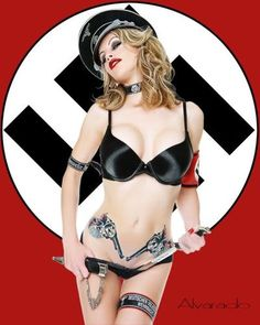 Something is. Naked sexy nazi chicks