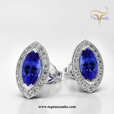 Add some sparkle to your jewelry collection with this beautiful design of #tanzaniteearrings.