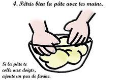 Recette de la pâte à sel : 4