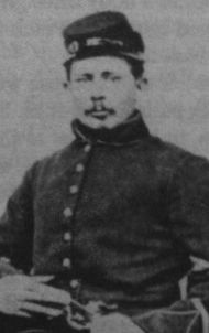 Jack Skelly. Jennie had this pic in her apron when she died. It was said they were engaged but there is no evidence. He gave a message to Wesley Culp to give to Jennie but Culp died on Culps Hill (his uncle's farm-he fought for the south) and the message was undelivered. Skelly died a few days after Gettysburg in the battle of Winchester. The three friends not knowing each other's fate