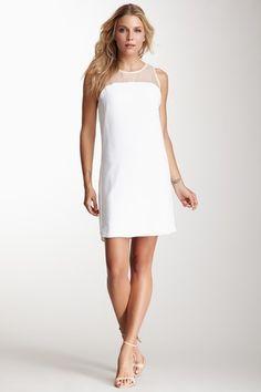 Sheer Block Dress