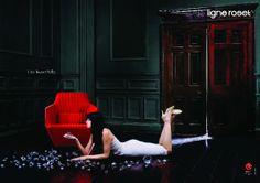 Ligne Roset www.lignerosetsf.com #LigneRosetSF #Furniture #Design #Branding #Advert