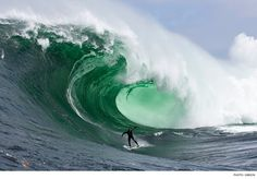 If you make the first double-up ledge, you might survive the wave. That's a big if.