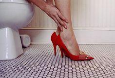 Louis Vuitton Red Shoe Blues VON Aysha Banos now on JUNIQE!
