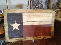 I bought this at Rustic Crossroads off hwy 377 for my son's lake house room