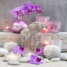 "Full Square Diamond DIY Diamond Painting ""Buddha and flowers"" Embroidery Cross Stitch Rhinestone Mosaic Painting Decor Buddha Flower, Mosaic Pictures, Mosaic Diy, 5d Diamond Painting, Diamond Art, Mosaic Patterns, Floral Patterns, Cross Paintings, Pattern And Decoration"