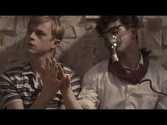 "Daniel Radcliffe, right, and Dane DeHaan in ""Kill Your Darlings."""