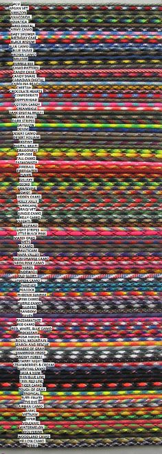 Search and rescue paracord