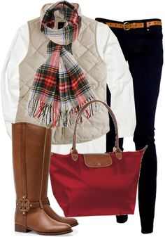 Traditional preppy style for comfort and polished, tailored good looks Preppy Outfits, Mode Outfits, Preppy Skirt, Winter Trends, Fall Winter Outfits, Autumn Winter Fashion, Winter Dresses, The Cardigans, Look Fashion
