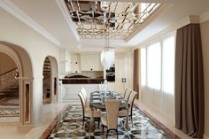 Проект столовой в частном доме GK design studio